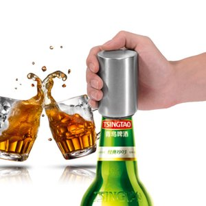 Apribottiglie birra in acciaio inox Accessori da cucina automatici Birra Soda Cap Vino rosso Cavatappi Accessori per bar Utensili da cucina