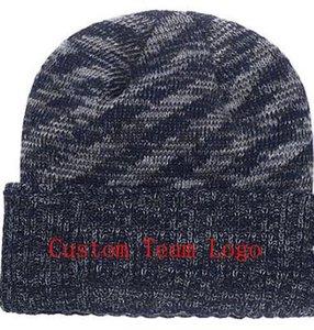 2019 Outono Inverno chapéu dos homens mulheres Chapéus Esportes Personalizado Cap Malha Sideline Tempo Frio Malha chapéu Macio Quente Denver Beanie Crânio Cap