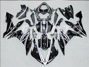 Moulage par injection Nouveaux carénages Pour Yamaha YZF-R1 YZF R1 2004 2005 2006 01 R1 04 05 06 Kit de carénage de moto ABS noir Q12