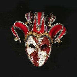 Neu High-End Venezianische Maskerade Maske Venice Mask Europa und die Vereinigten Staaten Halloween Clown Maske Show liefert