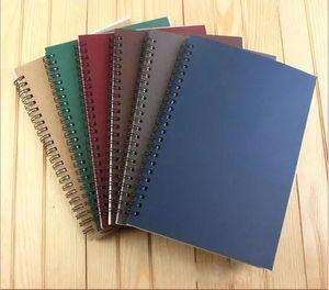 2018 새로운 학교 나선형 노트북 지우개 재사용 할 수있는 Wirebound Notebook 일기장 A5 종이 Subject College College Ruled