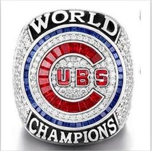 Il trasporto libero di alta qualità 2017 commercio all'ingrosso 2016 Chicago World Cubs Championship Ring uomini regalo dimensioni all'ingrosso 8 - 14 2016