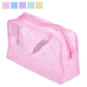 Moda Kadınlar Makyaj Çantası Taşınabilir Makyaj Kozmetik Çantası Tuvalet Seyahat Yıkama Diş Fırçası Kılıfı Organizatör Çanta Araçları * 15 # 30