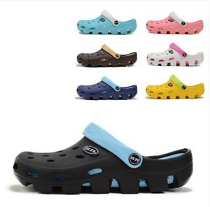 المرأة الجديدة الأزياء حفرة حفرة الأحذية إيفا باطن سميكة النعال قباقيب عشاق الترفيه أحذية الشاطئ للجنسين حديقة أحذية الرجال الصنادل