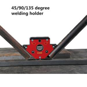 NdFeB-Magnet mit dehnbarem Neodym-Magnet aus magnetischem Quadrat mit extrem starkem Pfeilschweißen Drei Seiten, die industrielle Verwendung halten