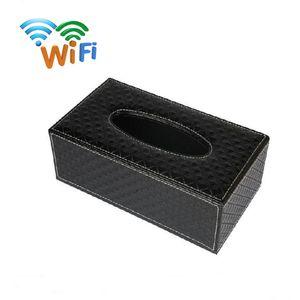 128 GB Speicher eingebaut in Full HD 1920 * 1080P Wifi Kamera drahtlose IP-Cam-Gewebe-Kasten-Netzwerk-Kamera-Sicherheits-DVR Surveillance Nanny Cam PQ536