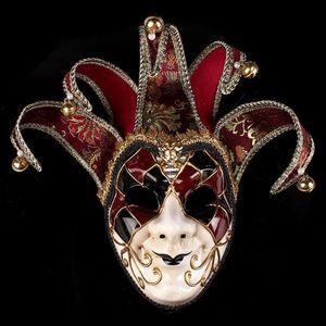 Hanzi_masks NEW netian Masquerade Mask 오페라의 유령 Halloween Clown Mask 파티 이벤트 볼 용품 장식 Halloween mask