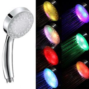 LanLan Changement de couleur Lumineux Pomme de Douche Lumineuse Creative Sprinkler Accessoires de salle de bains