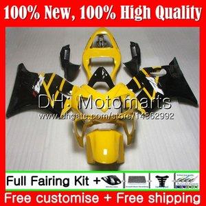 Cuerpo para HONDA CBR600FS CBR600F4i CBR600 F4i 01 02 03 43MT13 CBR 600F4i CBR600 FS CBR 600 F4i 2001 2002 2003 Fairing Bodywork Yellow blk
