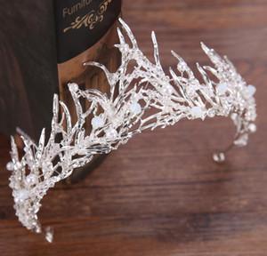 Barocker alter Goldbaum handgemachte Kronprinzessin Bride-Kronenhochzeitszusätze