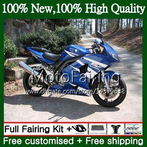 Обтекатель кузова для Suzuki SV1000 SV1000S с 03 04 05 06 07 08 37MF22 СВ 1000С синий белый 650S не СВ650 SV650S 2003 2004 2005 2006 2007 2008