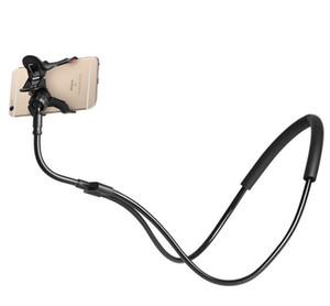 2018 새로운 도착 휴대 전화 클립 홀더, Gooseneck 범용 게으른 브래킷 3.5-6.3 인치 휴대폰 모바일 스탠드에 대 한 유연한 긴 팔