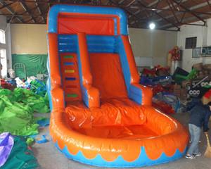 2017 enfants équipement de parc aquatique toboggan gonflable toboggan de piscine gonflable