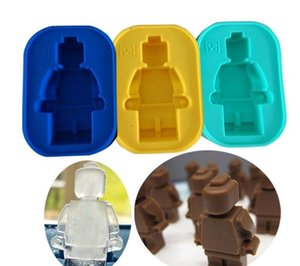 Productos en stock Happy High Single Robot Bing Gemo Originalidad DIY Gel de sílice Robot Ice Lattice Mould