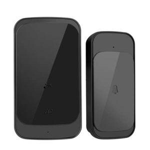 Wireless Doorbell Slim Remote Control Intelligent Door Bell Ring Elderly Caller Doorbell Home Remote LED Wireless Door Ring