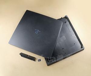 Полный корпус чехол для PS4 Pro консоли черный цвет консоли дом обложка оболочки имеют логотип
