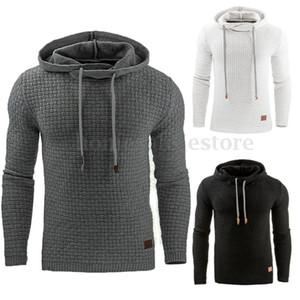 Hoodies Men 2018  Male Long Sleeve Solid Color Hooded Sweatshirt Mens Hoodie Tracksuit Sweat Coat Casual Sportswear S-4XL