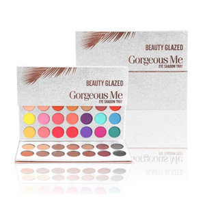 New Beauty Glazed 63 Color Eyeshadow Palette Makeup Matte Eye Shadow Palettes Waterproof Powder Natural Pigmented Nude Smokey Eye Shadow