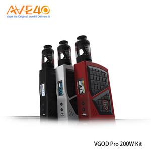 Kit 100% originale VGOD Pro 200 W con scatola VGOD Pro 200 W Mod 4ml VGOD Subtank Kit serbatoio elettronico NUOVO di sigarette