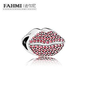 FAHMI 100% 925 plata esterlina 1: 1 Original 796562CZR auténtico temperamento moda Glamour Retro del grano joyería de la boda