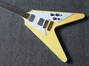 Chitarra New Yellow flying v eletric guitar new arrival