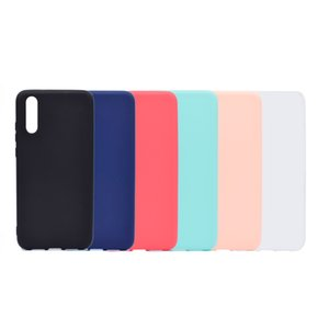 pHONE CASE For Huawei P20   p20 lite Candy Color Soft Transparent Clear TPU Silicone Back Cover Case For Huawei P20 Pro Plus