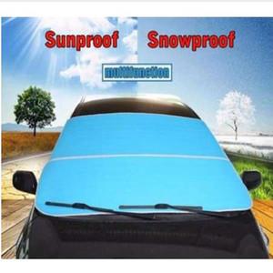 Araba Cam SunShade Kar Geçirmez Evrensel Sedan SUV MPV Için Kapakları Anti-Uv Su Geçirmez Oto Pencere Koruyucu 3 Renkler