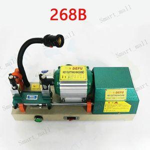 Новейшая модель DeFu горизонтальный ключ Дубликатор 268B ключ резки 220 В 120 Вт двери автомобиля ключ резки копировальный станок слесарные инструменты