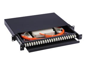 24ports 48cores LC Fibre multimodali a doppia fibra Fibre ottiche per telai ODF pieno di codino APTTEK