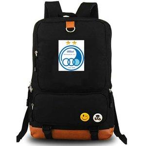 ESTEGHLAL RUCKSACK TEHERAN FC Daypack Специальный футбол клуб Schoolbag Socker Packsack Team рюкзак ноутбук школьная сумка на открытом воздухе