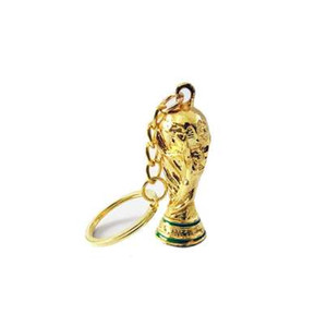 New Russia Copy Mascot Hercules Cup KeyChains for Football Cup key ring Llaveros Chaveiro Porte Clef
