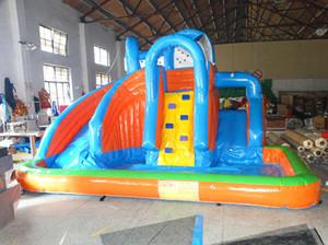 Giochi di divertimento 2018 Isole gonfiabili gonfiabili della piscina del parco dell'acqua