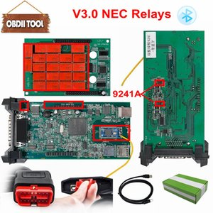 Double Green PCB V3.0 Nec Relays tcs cdp pro bluetooth 2015 R3 keygen software as Multidiag pro obd2 Scanner Tool