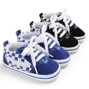 Chaussures de toile, Nouvelle Arrivée Mode Soft Coton Soft Baby Shoes et Sole Sole Shoes Premier Walker