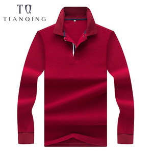 TIAN QIONG New Arrival Autumn Winter shirt Fashion Men  Shirt   Top Quality Cotton Breathable Men Business