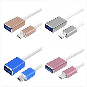 Type C-OTG Date de câble USB 3.1 3.0 Type C Pour Femme OTG Câble adaptateur pour Samsung autre téléphone samert