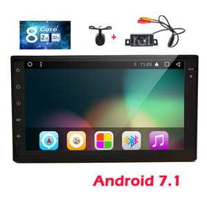 Eincar GPS Car Stereo 7 inch Android 7.1 نظام راديو السيارة ستيريو في اندفاعة GPS للملاحة FrontBackup كاميرات 1080P مشغل فيديو واي فاي