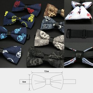 200PCS Uomini Bowtie Vintage business formale Tuxedo Bow Tie Wedding Anniversary Party Stampato collo Bowties Gentleman Tempo libero cravatta delle cravatte