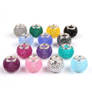 10 ADET Reçine Pandora Stil Bilezikler DIY Takı Için Sevimli Alaşım Boncuk Charms Avrupa Kadınlar Kız Hediyeler B0011