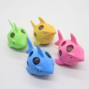 Улыбаясь акула сетки болотистый мяч смешно снять стресс декомпрессии игрушка прекрасная рука Squeeze игрушки завод прямых продаж 1 96xt BB
