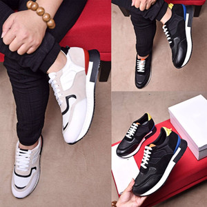 2018 hot saling new arrives man casual shoes top luxury lace-up shoes breathable mesh genuine leather men casual shoes size 38-45 Free