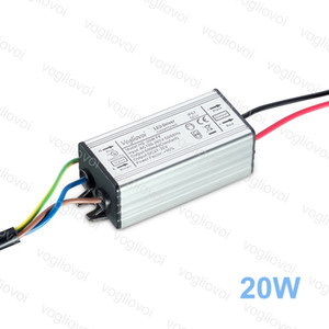 변압기 20W 전체 전력 600MA 방수 AC110V AC220V 알루미늄 실리콘 어댑터를 들어 시경 높은 베이 램프 DHL 조명