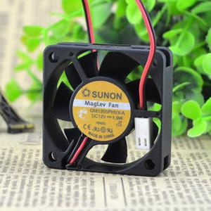 Para original Jianzheng SUNON 5015 12V 1.9W GM1205PHVX-A ventilador del servidor hidráulico