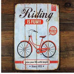 Велосипед металл олова знак стены декор, езда на велосипеде плакат старинные олова знак металл живопись старинные ремесла железо ретро доска