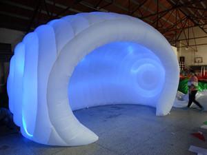 Aufblasbares Zelt des aufblasbaren Zeltes des kundenspezifischen Haubenzeltes weißes aufblasbares vorbildliches Zelt