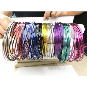 Metal Toroflux Flow Ring Toy 8 Cor Holográfica Ao Mover Movendo Um Fluxo Anel Flutuante Rainbow Rings Anéis com Saco De Pano