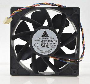Delta QFR1212GHE QFR1212GHE-PWM 4 P 12 V 2,7A 12038 Server lüfter 74Y5220 120 * 120 * 38mm für Bitcoin Miner