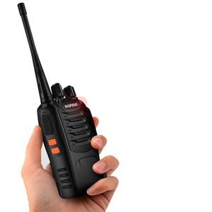 Hot BaoFeng BF-888S portable walkie talkie Two Way Radio UHF 400-470MHz Handheld Walkie Talkie CB Ham Radio Transmitter Transceiver