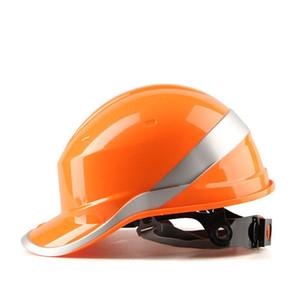 델타 플러스 102018 ABS 안전 헬멧 전기 절연 Casco De Seguridad 통기성 반사 안전 헬멧