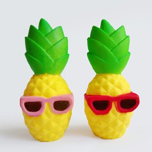 New styles Squishy pineapple Slow Rising Cute Colossal Fun pineapple squishies Kid Toy Squeeze Soft Relieve Charm Anxiet Gift